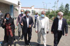شهره موسوی از امکانات و زیر ساخت های دانشکده تربیت بدنی و علوم ورزشی دانشگاه گیلان دیدن کرد