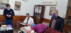 پویش اهدای خون فوتبالی ها در کشور+عکس