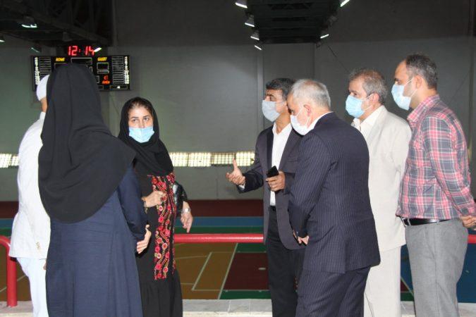 گزارش تصویری بازدید شهره موسوی از امکانات و زیر ساخت های دانشکده تربیت بدنی و علوم ورزشی دانشگاه گیلان