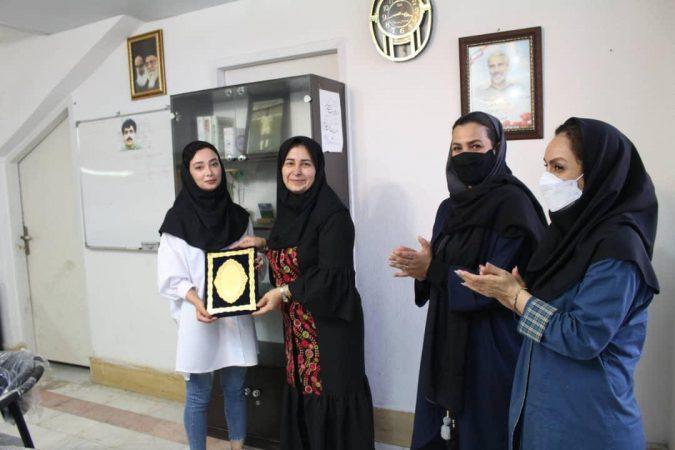 گزارش تصویری: تجلیل از سوگند سامی و ریحانه آشتاب