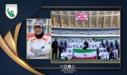تبریک مریم آزمون به تیم ملی بانوان