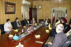 نشست هم اندیشی مرحله دوم لیگ یک بزرگسالان استان گیلان فصل ۱۴۰۰-۱۳۹۹+عکس